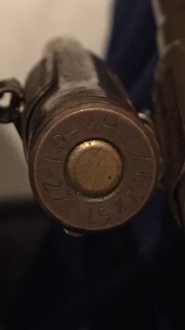 Die Gravur  - (Patronen, Munition)