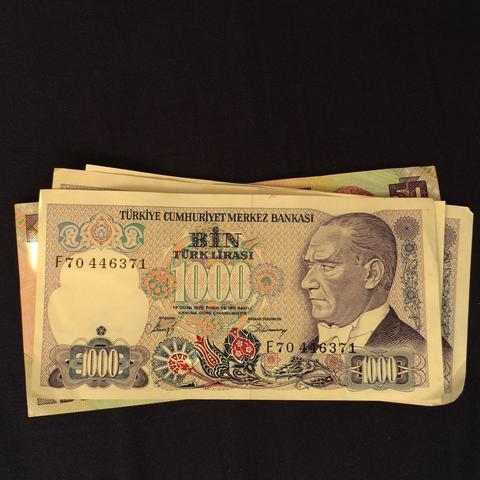 Was Ist Das Für Eine Währung Altneu Lira Geld Urlaub Bank