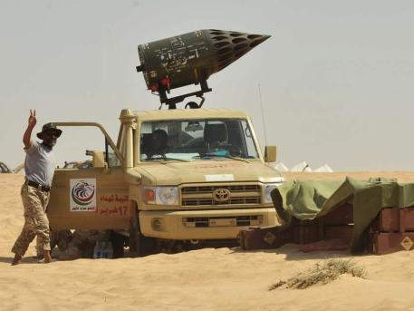 Was ist das - (Waffen, Krieg, Lybien)