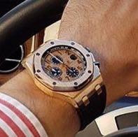 Hier die Uhr - (Uhr, Armbanduhr, luxus)