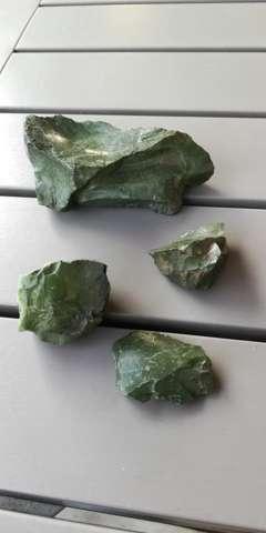 Was ist das für grünes Gestein?