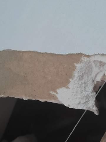 Was ist das für Pappe hinter der Wand?