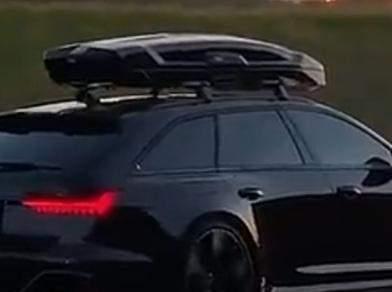 Was ist das oben am auto?