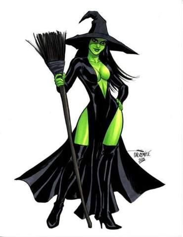 Was ist das? Welche Hexe ist das? Ist sie böse oder lieb?