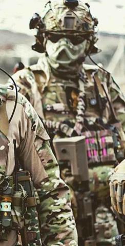 -> - (Militär, Maske)