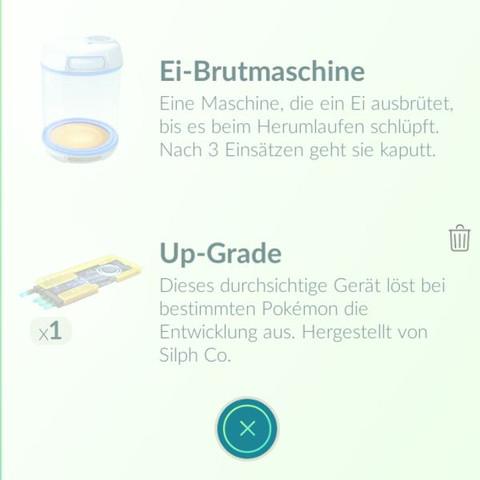 Der upgrader unten - (Pokemon, Pokemon Go, Upgrade)