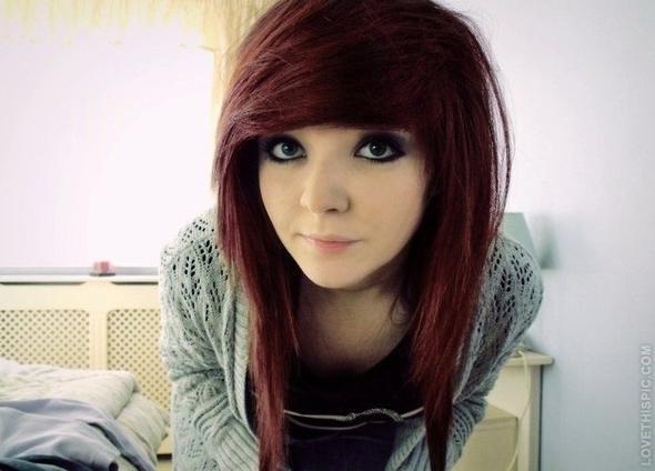 Ich will mir die Haare in der Farbe färben.  - (Farbe, Haarfarbe)