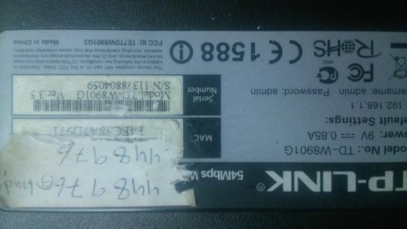 Was ist der Sicherheitsschlüssel auf diesem Router?  - (WLAN, Passwort)