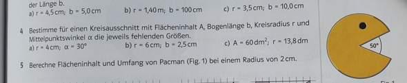 Was ist der Umfang und der Flächeninhalt?