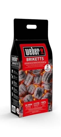WEBER BBQ Grillbriketts Holzkohle Brikett NEU 2016  - (Grillen, Grill, Weber)