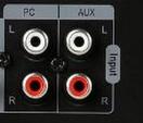 """Was ist der Unterschied zwischen """"AUX"""" und """"PC"""" (Lautsprecher, Input)"""