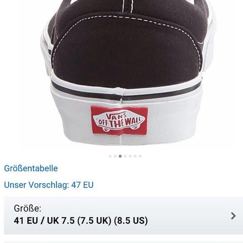 rotes Zeichen - (Schuhe, Vans)