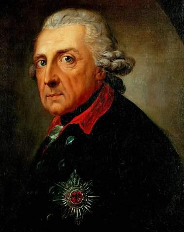 Was ist der Unterschied zwischen Friedrich 2.und Ludwig 14.?