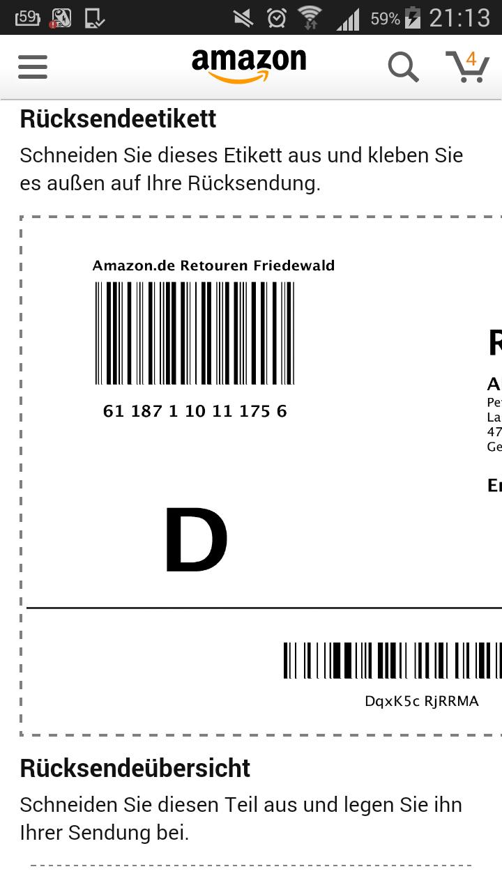 paket von amazon erhalten ohne bestellung