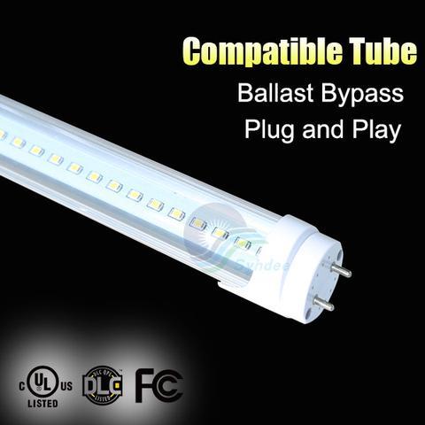 Was ist der Unterschied zwischen Vorschaltgerät kompatibel und Ballast Bypass-LED-Röhre?