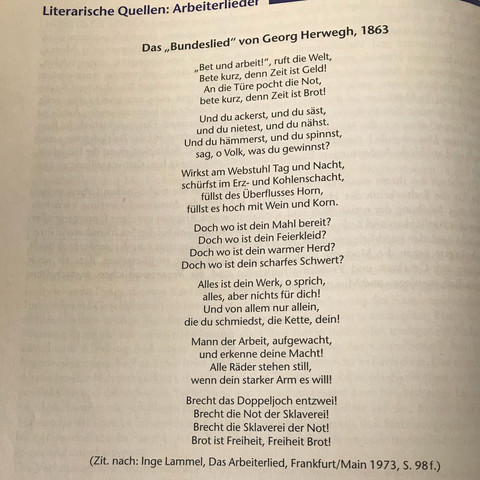 Was ist die Absicht des Dichters /für wen ergreift er Partei?