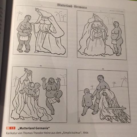 Das ist die Karikatur. - (Geschichte, imperialismus)