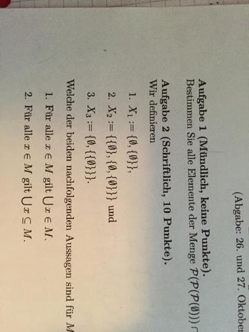 Aufgabe 1.1  - (Mathematik, Logik, Algebra)
