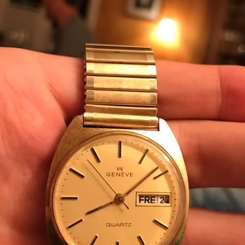 Von vorne sehr schön automatic - (Uhr, watch, Geneve quartz)
