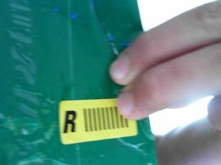 was ist dieser gelbe sticker auf dem paket zoll asien. Black Bedroom Furniture Sets. Home Design Ideas