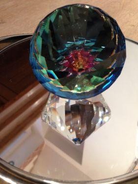 Briefbeschwerer  - (sammeln, Kristall, Swarovski)