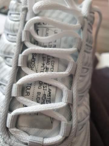 Was ist dieses Etikett auf meinem Nike Schuh?