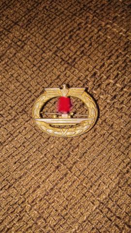 Was ist dieses U-Boot Kriegsabzeichen wert?