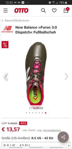Was ist eure Meinung zu diesem Schuh? (Fußball, Schuhe