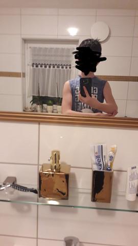 - (Kleidung, Muskeln)