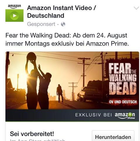 Was ist FEAR the walking dead?