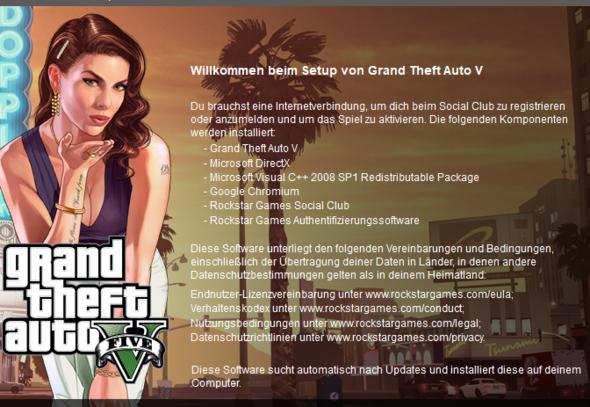 Bild von installer - (GTA V, Chromium)