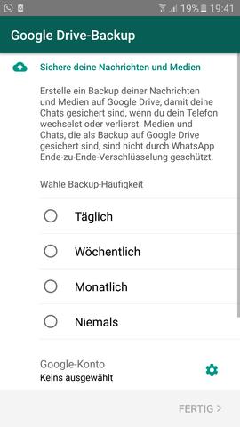Whatsapp bilder werden nicht gespeichert