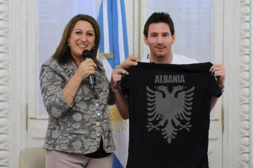 Lionel Messi Albanien - (Italien, Albanien, Argentinien)