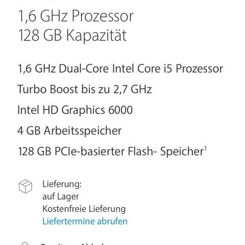 Hat jemand schon Erfahrungen mit diesem MacBook air 13 - (Computer, PC, Apple)