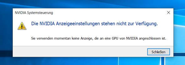 Was ist mit meiner Grafikkarte (NVIDIA GTX 1060) los?
