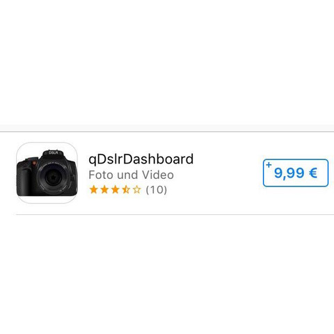 Hier die App im AppStore.  - (Film, Apple, Kamera)