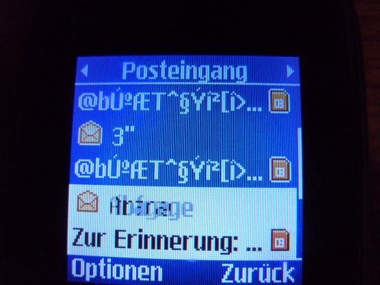 Handy-Nachricht - (Handy, Telefon, Bedeutung)