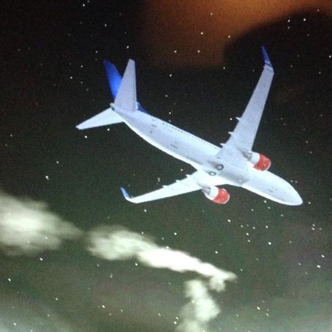 Hier dieser Rauch  - (fsx, Flight Simulator)