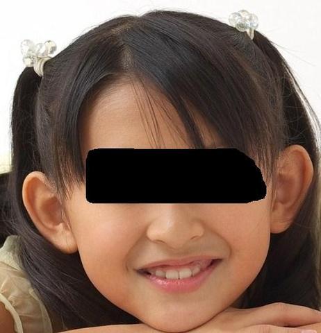 Ohren von vorn - (Schule, Mädchen, Haare)