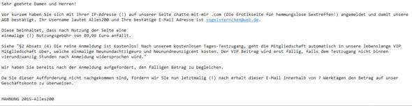 E-Mail als Bild-Format  - (Internet, Internetseite)
