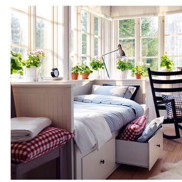 Das ist das Bett  - (Mädchen, Haus, Möbel)