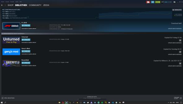 Was kann ich tun um schneller Spiele bei Steam runterzuladen?