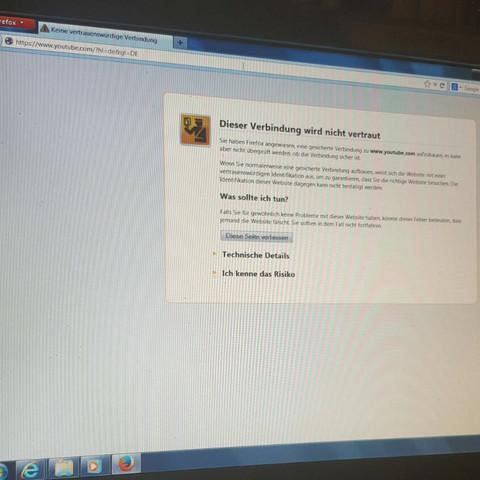 Hier ist das Problem, danke im Voraus  - (PC, Mozilla, beheben)