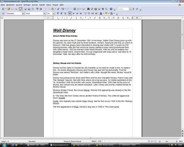 Seite 1 - (Englisch, Prüfung, Text)