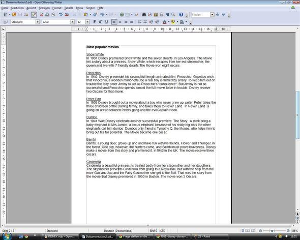 Seite 2 - (Englisch, Prüfung, Text)