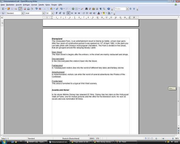 Seite 3 - (Englisch, Prüfung, Text)