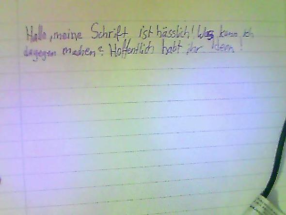 :(!!!!!!!!! - (Schule, Schreiben, Schrift)
