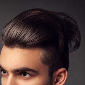 Hier genau so möchte ist es  - (Haare, stylen)
