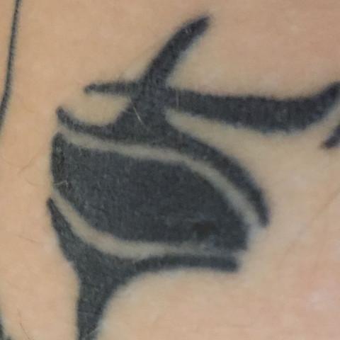 Der dicke Punkt im Auge  - (Pflege, Tattoo)
