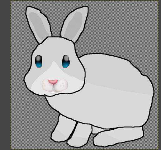 Was könnte ich bei der Grafik vom Hasen ändern?